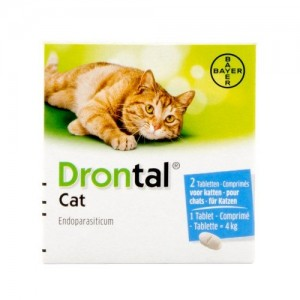 Drontal Cat - 8 tabletten