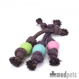 Beco Ball on Rope - Small - Groen