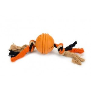 Beeztees Sumo Fit Ball - Hondenspeelgoed - Rubber - Oranje - 31